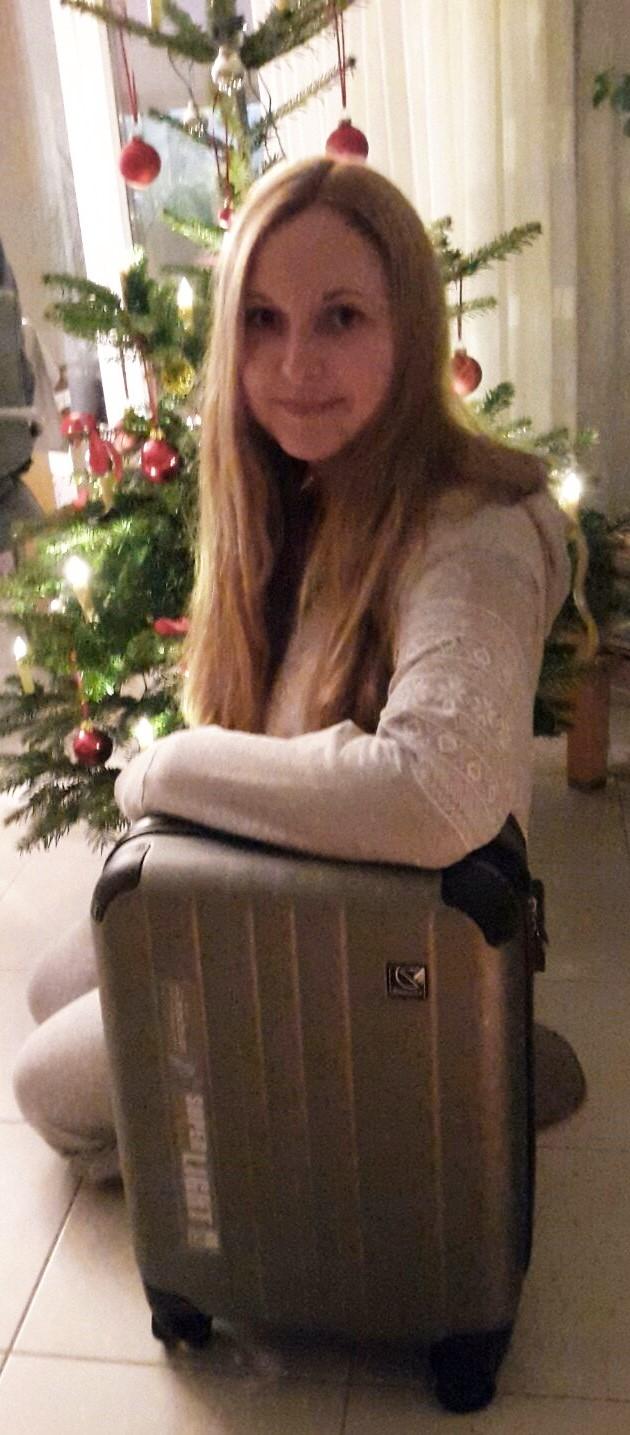 koffer handgepaeck cabin size vier rollen robust stabil geschenke weihnachten