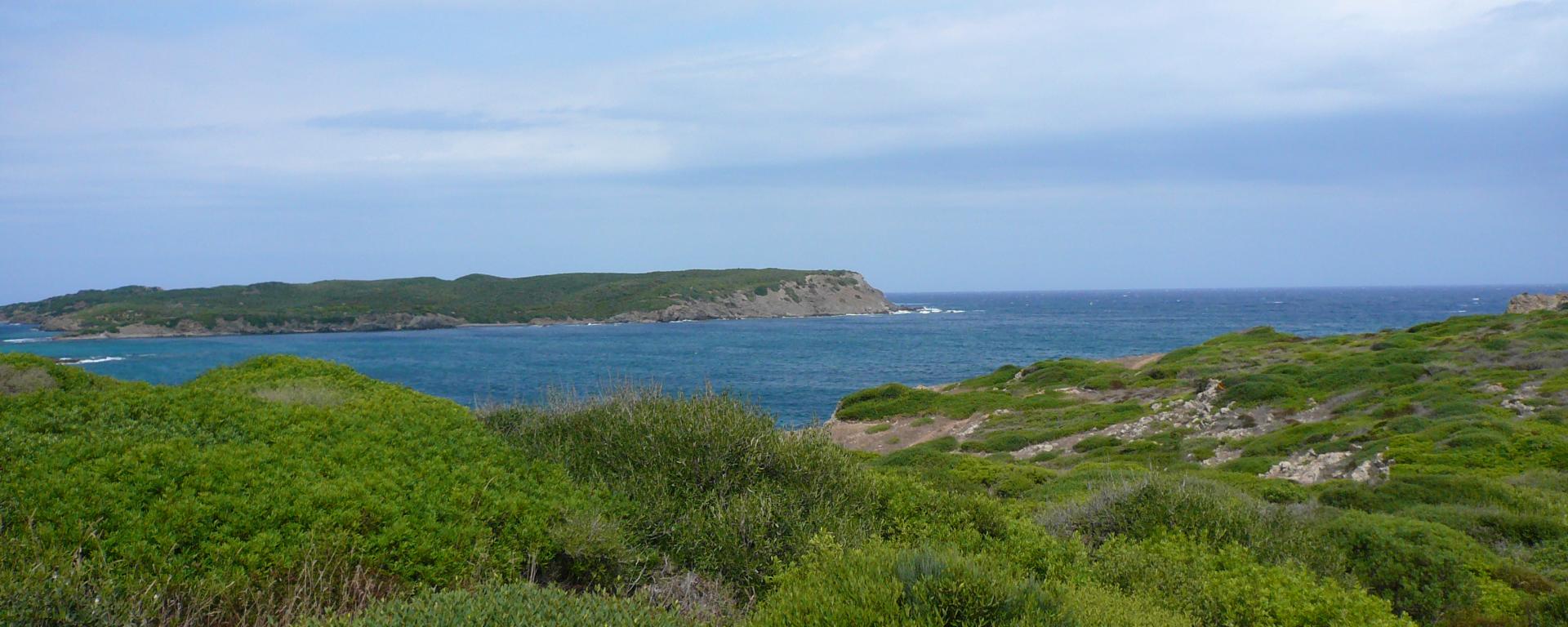 menorca sueden strand natur landschaft meer