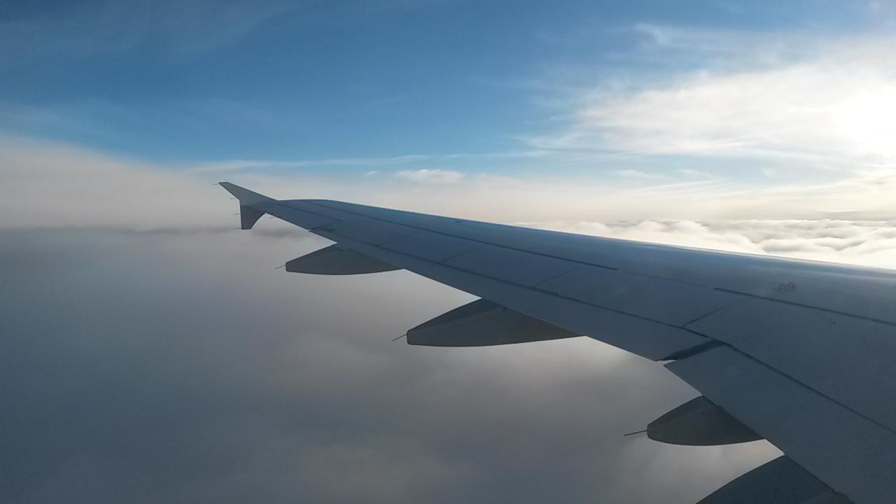 bremen silvester städtereise city trip flug sonne wolken himmel