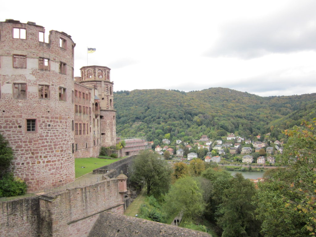 heidelberg baden-württemberg schloss altstadt weekend getaway jean above the clouds