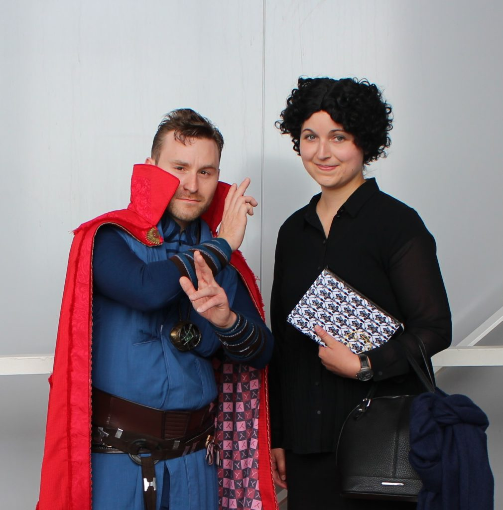 cosplay german comic con jean above the clouds diyrona stuttgart messe sherlock doctor who wonder woman tardis dr strange